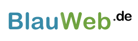 BlauWeb.DE - Logo